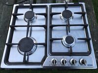 DeLonghi Gas Hob stainless steel