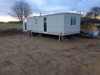 Static Caravan 28' x 10'