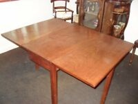 Victorian Mahogany Gate leg/Drop Leaf Dining Table