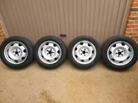 "Volkswagen VW T5 T5 Transporter 17"" wheels"