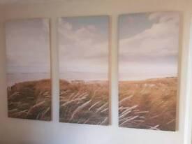 3 piece canvas set