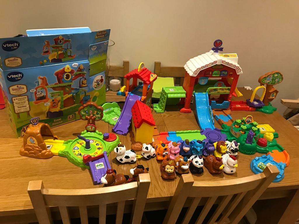 Vtech Toot Toot Animals Bundle