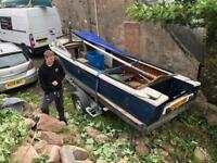 19' Dutch Canal boat