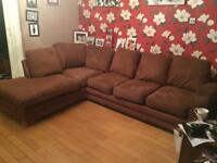 Large and lovely corner sofa