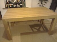 Next wooden table and chairs