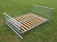 JAY-BE KING SIZE LOW METAL BED FRAME