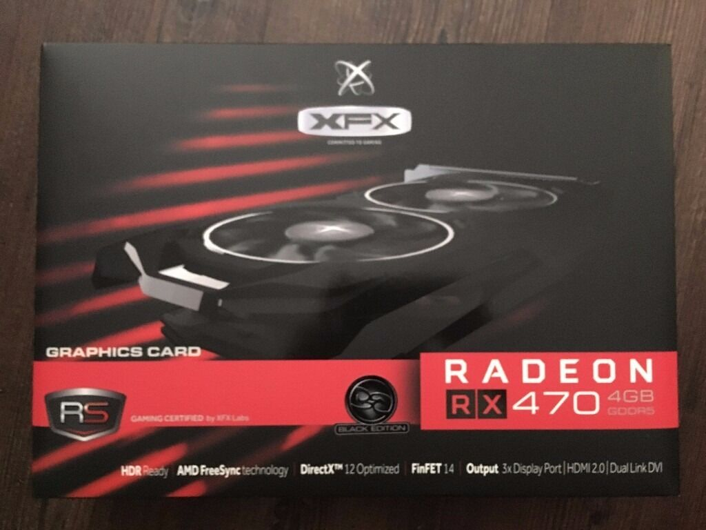 XFX RX 470 4GB | in Swindon, Wiltshire | Gumtree