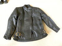 """Ladies """"GEAR"""" Motorcycle Jacket - Size 12 – Excellent"""
