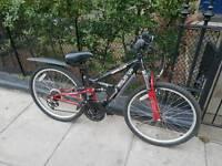 "Like new Kid/Teens Mountain Apollo Bike 20"" Wheels With Full Suspension RRP £219.99"