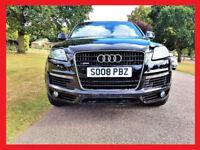 CHEAP-- 2008 Audi Q7 S Line 3.0 TDi Automatic -- 7 Seater -- half Leather Seats -- Part Exchange OK