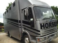 Ford IVECO 7.5T 1995 M Reg Horse Box