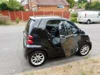 2013 SMART CAR FOURTWO PASSION SATNAV LEATHER HISTORY TAX MOT FULLY LOADED BLACK FOUR TWO