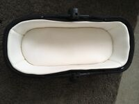 Silver cross carrycot for wayferer / pioneer