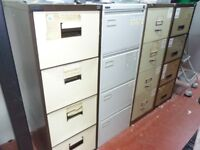4 Drawer Metal Filing Parts Storage Cabinet For Office Workshop Repair Centre *Clearance* RRP £150