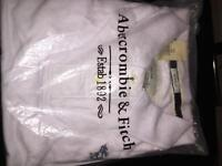 Abercrombie & fitch Mens designer Summer Tshirt polo size large