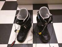 Burton Snowboard Boots Size 8 Used.