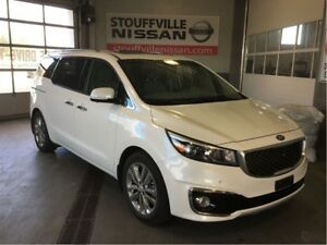 Kia Sedona sxl+ napa leather and navigation 2017