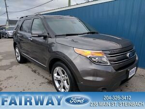 2015 Ford Explorer Limited Lthr*Mnrf*NAV*32844 KMS!