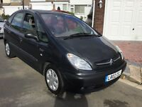 Citreon xsara Picasso 1.6 sx 2002 facelift model 5 door mpv people carrier mot February