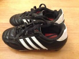 Adidas Football Boots Childs size 10