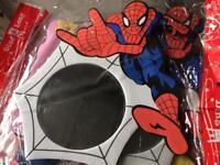 Job lot of Spider-Man mirrors