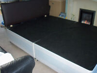 KING SIZE DIVAN BASE & HEADBOARD INC DELIVERY(HULL & OUTSKIRTS)
