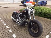 2002 Harley Davidson Fatboy 1.5 BLACK 21880 MILES