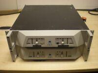 Opus Audio Loudspeaker PA System Speakers Amplifiers HD 1250/500 (2U)