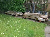 Used Concrete Wire Fence Posts