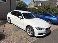 2012 BMW 320d 4 door white excellent condition