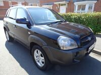 2006 HYUNDAI TUCSON 2.0 CRTD 4WD DIESEL TOW BAR FULL HISTORY LEATHER SUNROOF