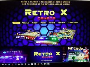 RETROPIE - The Authentic Portable ARCADE System w/WARRANTY - www.retroxcanada.com