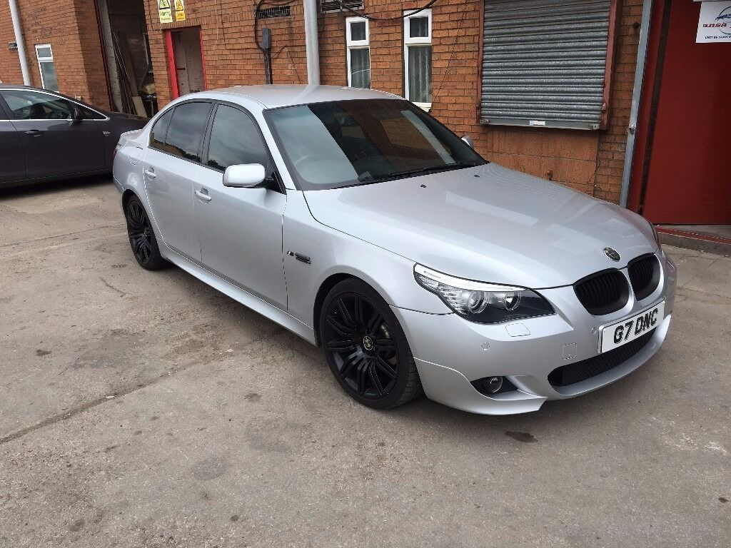 BMW 530I M SPORT 2007 E60 272HP BLACK LEATHER SALOON  in Sutton