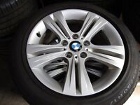 "CHOICE OF GENUINE BMW 17"" & 18"" ALLOYS WITH AND WITH OUT TYRES"