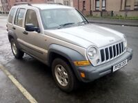 jeep cherokee crd sport automatic turbo diesel 2005 05 plate 2owners