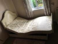 Adjustamatic large single bed