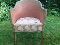 Pink Lloyd Loom chair