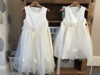Ivory flower girl dresses
