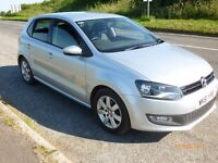 VW Polo 1.2 TDi Match, 5 door Silver, one previous owner, 65mpg and £20 road tax!!!