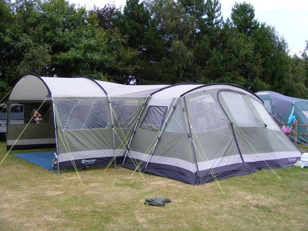 Outwell Vermont Xl With Side Awning Footprint And Carpet