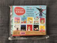 9 new/1 like new children's books-Lauren Child 10pack inc 3x Charlie & Lola/3x Clarice Bean