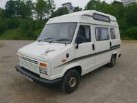 1989 CITROEN C25 CAMPER VAN SAME AS TALBOT, WITH A LONG M.O.T, 2.5 DIESEL ENGINE
