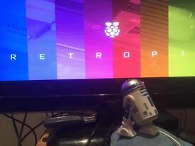 R2D2 retropie unit with emulators