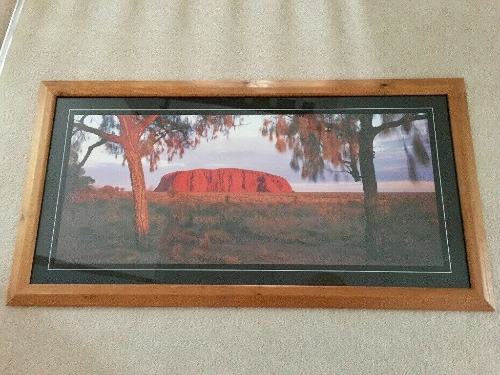 Ayers Rock Framed Photo