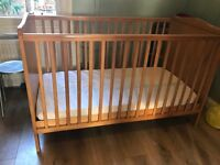 Free - Large Wooden Cot in Queen's Park