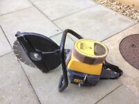 Partner two stroke petrol disc cutter