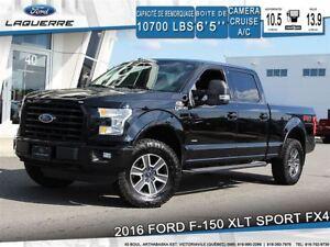 2016 Ford F-150 XLT SPORT FX4**4X4*CAMERA*BLEUTOOTH*A/C**