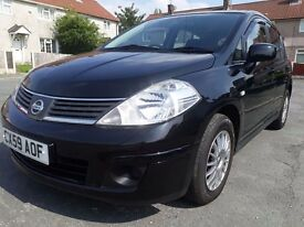 NISSAN NOTE TILDA 1.6 PETROL VERY LOW MILES IMMACULATE
