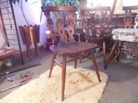 6 Ercol dining chairs