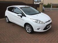 Ford Fiesta 1.25 Zetec 5 Door In White - Jan 2011 / 60 Plate 2 Owners, Ford Sevice History
